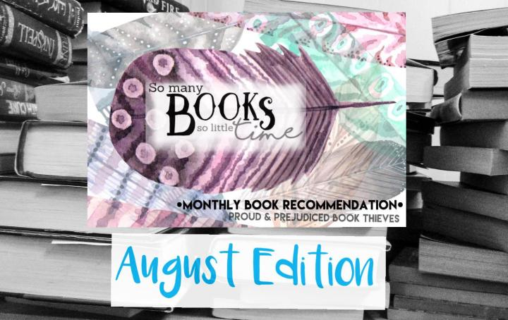 August Book Recommendations: Our Dazzling New Feature & a Bookish-Soulmate Quiz