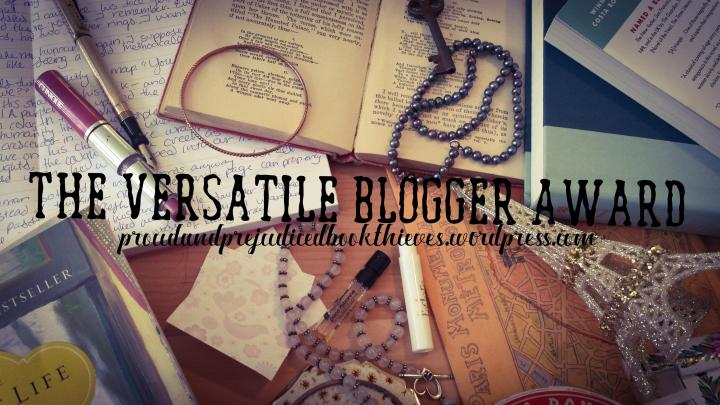 The Versatile Blogger Award {Featuring 28 Stunning Facts Concerning Clara &Hermione}