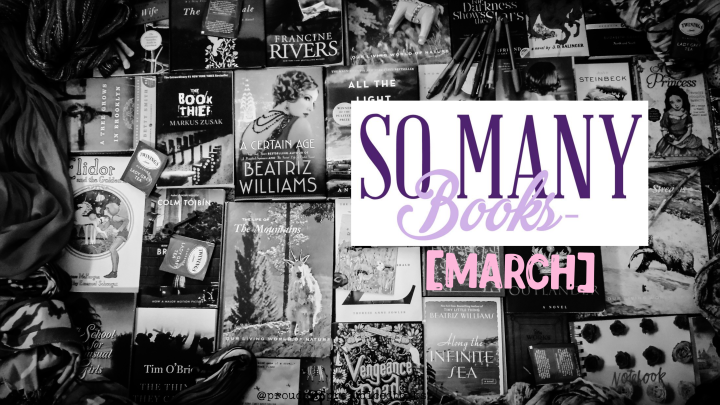March Books: Featuring A Rather Caustic Quiz, Three Intoxicating Romances & Our Dog Not Caring ATALL