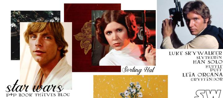 Sorting Hat Anonymous: The Star Wars OT Trio – Luke, Han & Leia–