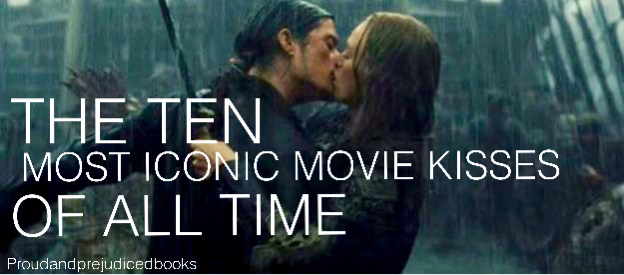 The Ten Most Iconic Movie Kisses of All Time